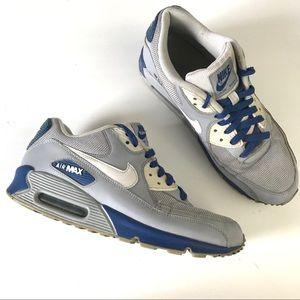 Nike Air Max 90 essential mens sneaker gray blue 9